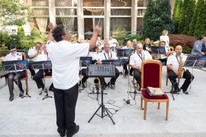 Оркестър Академия МВР прием посолство Русия